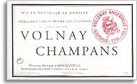 2009 Domaine Marquis d'Angerville Volnay Champans