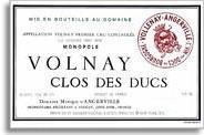 2007 Domaine Marquis d'Angerville Volnay Clos des Ducs