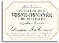 1996 Domaine Meo-Camuzet/Meo-Camuzet Frere & Soeurs Vosne-Romanee Les Chaumes