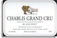 2012 Domaine Servin Chablis Blanchots