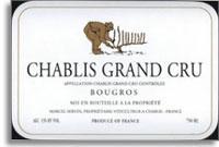 2012 Domaine Servin Chablis Bougros
