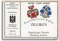 2014 Forstmeister Geltz-Zilliken Saarburger Rausch Riesling Auslese