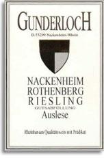 2010 Gunderloch Nackenheimer Rothenberg Riesling Auslese