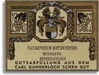 2007 Gunderloch Nackenheimer Rothenberg Riesling Beerenauslese