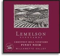 2006 Lemelson Vineyards Pinot Noir Chestnut Hill Vineyard Willamette Valley