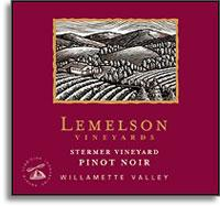2011 Lemelson Vineyards Pinot Noir Stermer Vineyard Willamette Valley