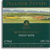 2011 Palliser Estate Pinot Noir Martinborough