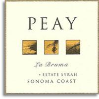 2010 Peay Vineyards Syrah La Bruma Estate Sonoma Coast