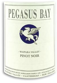 2012 Pegasus Bay Pinot Noir Waipara Valley