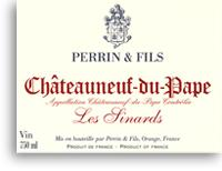 2007 Perrin Fils Chateauneuf Du Pape Les Sinards