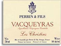 2011 Famille Perrin Vacqueyras Les Christins