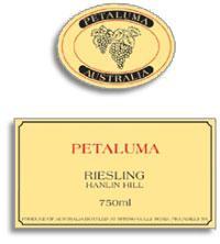 2012 Petaluma Riesling Hanlin Hill Clare Valley