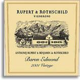2010 Rupert And Rothschild Baron Edmond Coastal Region