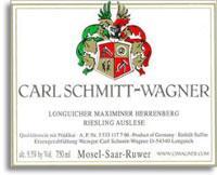 2010 Carl Schmitt-Wagner Longuicher Maximiner Herrenberg Riesling Auslese