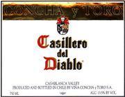 2012 Concha Y Toro Merlot Casillero Del Diablo Central Valley