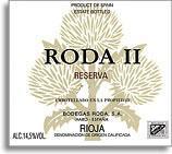 2003 Bodegas Roda Roda Ii Reserva Rioja