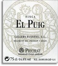 2010 Cellers Fuentes Priorat Finca El Puig