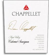 2008 Chappellet Vineyard Cabernet Sauvignon Napa Valley