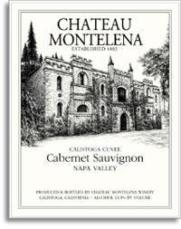 2011 Chateau Montelena Cabernet Sauvignon Calistoga Cuvee Napa Valley