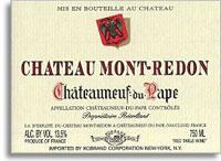 2012 Chateau Mont-Redon Chateauneuf-du-Pape