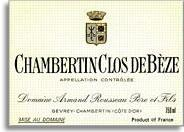 2012 Domaine Armand Rousseau Chambertin-Clos de Beze