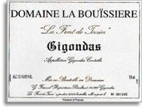 2007 Domaine La Bouissiere Gigondas La Font De Tonin