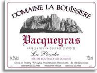 2005 Domaine La Bouissiere Vacqueyras La Ponche