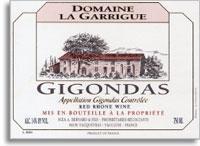 2009 Domaine La Garrigue Gigondas