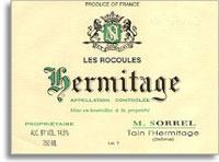 2012 Domaine Marc Sorrel Hermitage Blanc Les Rocoules