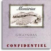 2009 Domaine Montirius Gigondas Confidentiel