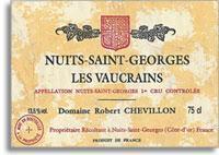 2005 Domaine Robert Chevillon Nuits-Saint-Georges Les Vaucrains
