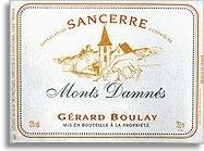 2010 Gerard Boulay Sancerre Monts Damnes