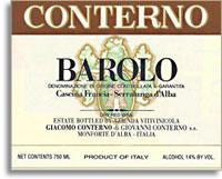 2010 Giacomo Conterno Barolo Cascina Francia