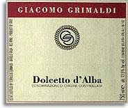 2010 Giacomo Grimaldi Dolcetto d'Alba