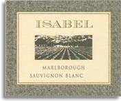 2012 Isabel Estate Sauvignon Blanc Marlborough