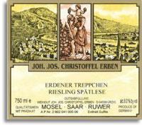 2010 Joh. Jos. Christoffel Erben Erdener Treppchen Riesling Spatlese