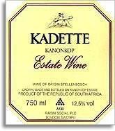 2005 Kanonkop Wine Estate Kadette Stellenbosch