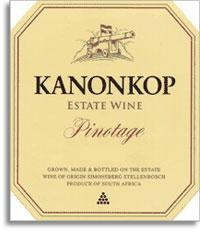 2001 Kanonkop Wine Estate Pinotage Stellenbosch