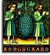 2001 Kongsgaard Wines Syrah Hudson Vineyards Napa Valley