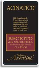 2010 Stefano Accordini Acinatico Recioto Della Valpolicella Classico