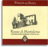 2011 Tenuta Di Sesta Rosso Di Montalcino