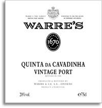 1995 Warre's Vintage Port Quinta da Cavadinha
