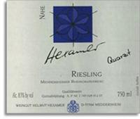 2011 Weingut Hexamer Meddersheimer Rheingrafenberg Riesling Quartzit