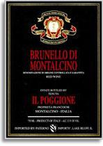 2007 Il Poggione Brunello Di Montalcino