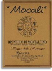 2004 Mocali Brunello Di Montalcino Vigna Delle Raunate