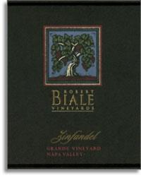 2009 Robert Biale Vineyards Zinfandel Grande Vineyard Napa Valley