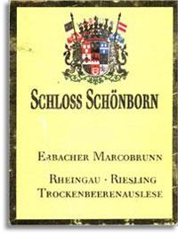 2009 Schloss Schonborn Erbacher Marcobrunn Riesling Trockenbeerenauslese