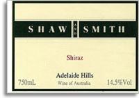 2010 Shaw & Smith Shiraz Adelaide Hills