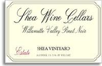 2011 Shea Wine Cellars Pinot Noir Shea Vineyard Estate Willamette Valley