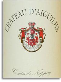 2008 Chateau d'Aiguilhe Castillon Cotes de Bordeaux